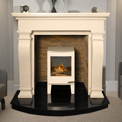 60 Ravelle Ivory Cream Surround