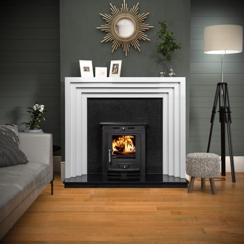 Micon Surround - The Obsidian honed polar white